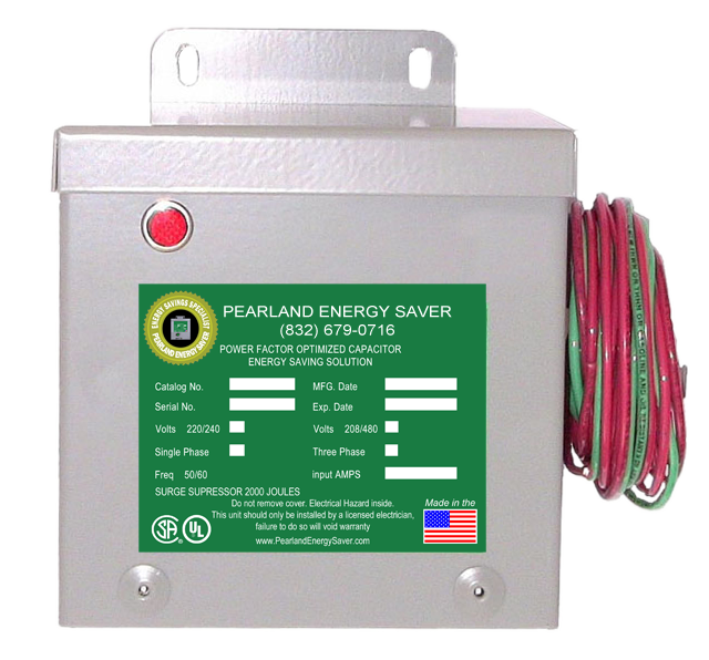 Pearland Energy Saver Box. Small Box, BIG $avings!